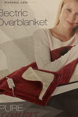 SilverCrest Electric Overblanket  With 6 Heat Setting Ext Soft  Breathable Outer
