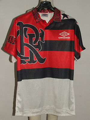 SOCCER JERSEY TRIKOT CAMISETA MAILLOT SPORT FLAMENGO n °11 100 YEARS size L