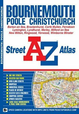 Bournemouth Street Atlas by Geographers' A-Z Map Company New Paperback Book