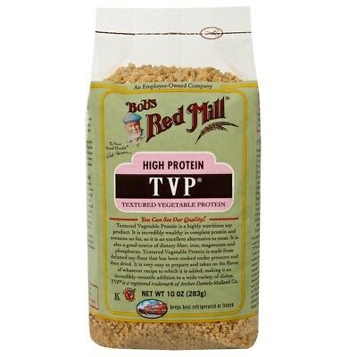 2 X Bob's Red Mill Tvp Texture Vegtable Protein Gluten Free Food Groceries Daily