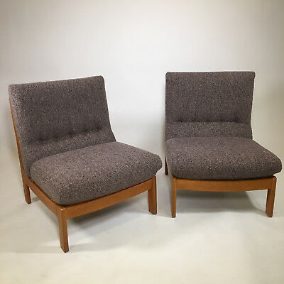 Paire de fauteuils scandinave - Set of 2 scandinavians lounges chairs - vintage