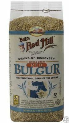 Bulk 6 X Bob's Red Mill Whole Grain Red Bulgur Easy To Cook Cereals Breakfast