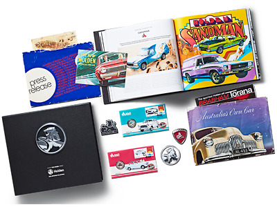 The 2017  Holden Archives Collection With Ultra Rare  Limited Pncs  And Badges