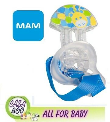 MAM baby dummy CLIP soother HOLDER chain strap