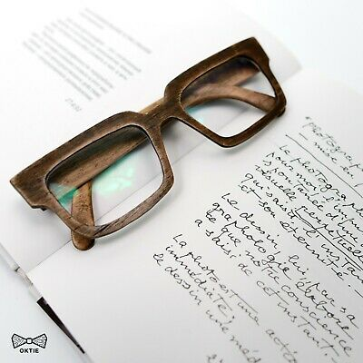 Wooden Glasses Frame Prescription Wood Eye Wear Sunglasses Unisex New Yorker