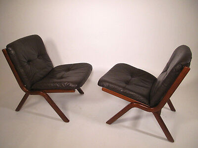 Paire de fauteuils danois - Set of 2 danish armchairs  design vintage
