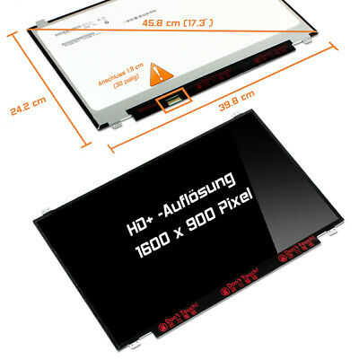 "NT173WDM-N11 LED Display 17,3"" glossy 1600x900 WXGA++ HD+"