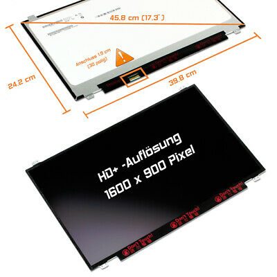 "NT173WDM-N21 LED Display 17,3"" matt 1600x900 WXGA++ HD+"