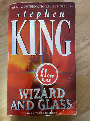 Wizard And Glass, Stephen King, Paperback Book.