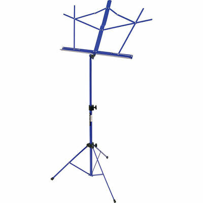On-Stage Stands Classic Sheet Music Stand w/Bag, SM7122DBB, Dark Blue