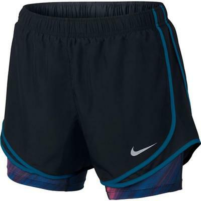 NWT Nike Dri-Fit Dry Tempo 2 in 1 Women's Running Shorts Size S 848436