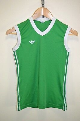 vtg 70s 80s ADIDAS EARLY VENTEX RARE VEST RUNNING SINGLET CASUALS size XS