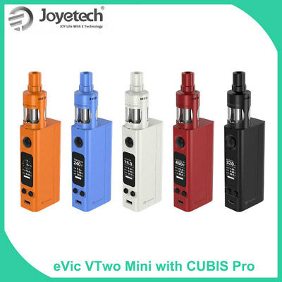 Original Joyetech eVic VTwo Mini with Cubis Pro Full Kit 1-75W 4ml TFTA-Tank