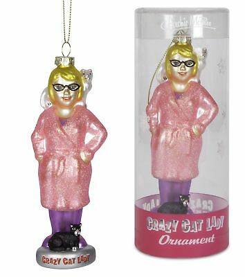 Crazy Cat Lady Ornament