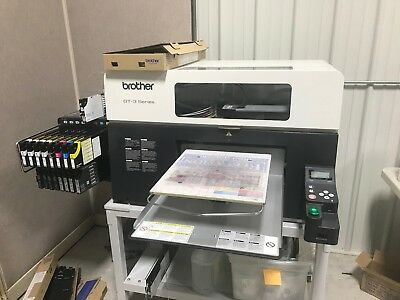 Brother GT3 Series Printer with a Viper One Pre-treat Machine