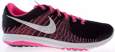 c0450b8bd Nike Flex Furry (Gs) Youth Black pink Running Shoes Sz 4Y - 7Y