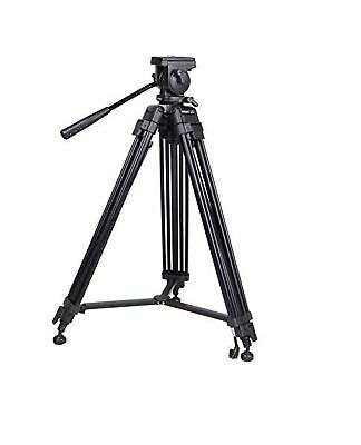 SOMITA Professional Video Tripod ST-650, 65mm Bowl, 62 inch height, with 2 Qu...