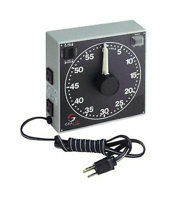 """GraLab Model 300,  60 Minute Photography and Darkroom Timer, 7-1/2"""" Length x 7-1"""
