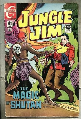 Jungle Jim #28-1970 vg+ Charlton / Steve Ditko / last issue