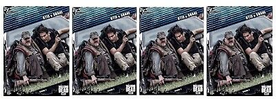 4x FALLOUT BLUE WAVE 2 OTIS & SHANE Topps Walking Dead Trader Digital Card