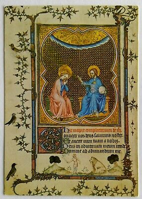 The Coronation of the Virgin Book of Hours Fitzwilliam Museum Postcard (P269)