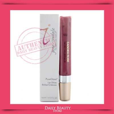 Jane Iredale PureGloss Lip Gloss 7ml 0.23oz Candied Rose NEW FAST SHIP