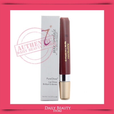 Jane Iredale PureGloss Lip Gloss 7ml 0.23oz Raspberry NEW FAST SHIP