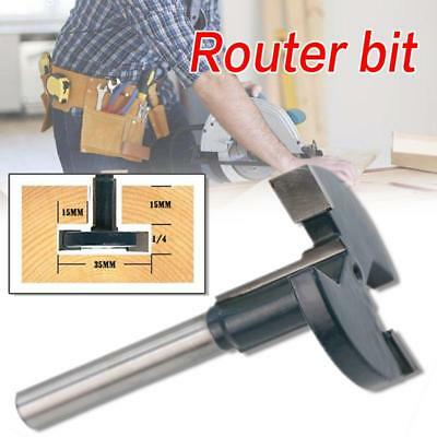 1/4 Shank T Type Router Bits Straight T Slot Router Woodworking Cutter Tool