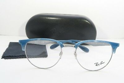 287b0a5594e RAY-BAN BLUE GLASSES New with case RB 6396 2934 51mm -  55.35