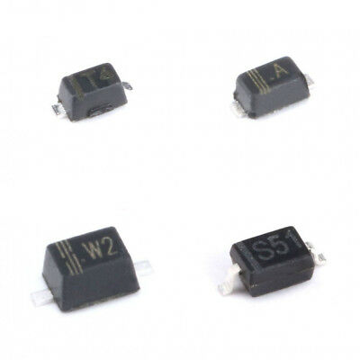 100pcs SMD Switch Diode SOT-23/123/323/523 1N4148WT BAV21WS T3 1N4148W T4