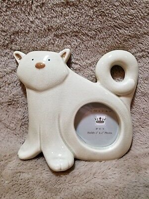 Amscan Pet Ceramic Cat Frame