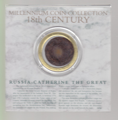 Millennium Coin Collection - 18th Century Russia-Catherine The Great
