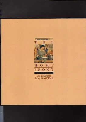 The Home Front - Life in Australia during World War 2, Book, Stamps & Post Cards