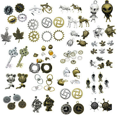 Wholesale Antique Silver/Bronze Alloy Jewelry Crafts Charms Pendant Making