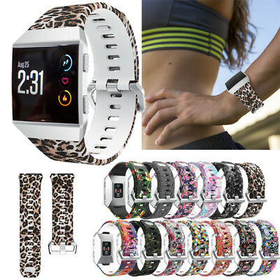 New For Fitbit Ionic Fitness Watch Bands Strap Soft Silicone Bracelet Wrist Band