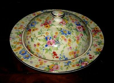 Royal Winton - Floral Feast Muffin Dish