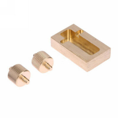 Set Craft Making Brass Leather Box Hand Painting Oil Mini Diy Roller Edge Tool
