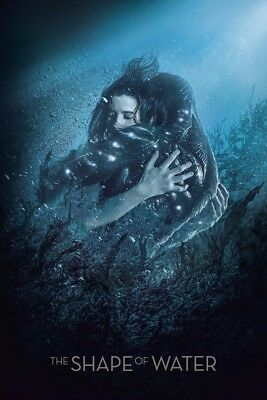 """The Shape of Water 2017 Movie Fabric poster 20x13 / 36x24"""" Decor 01"""