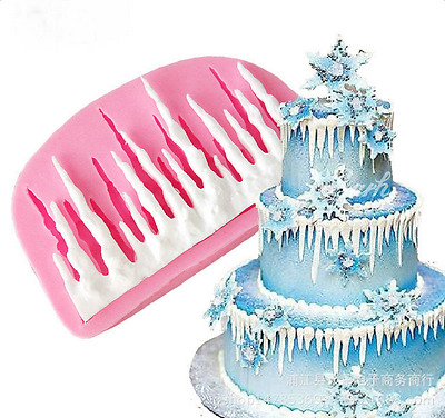 3D Silicone Cold Ice Cake Fondant Decorating Baking DIY Mold Mould Tools AU