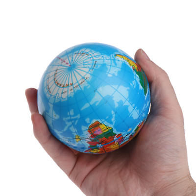 Fast Rising Squeeze Antistress Stress Relief World Map Ball Earth Planet