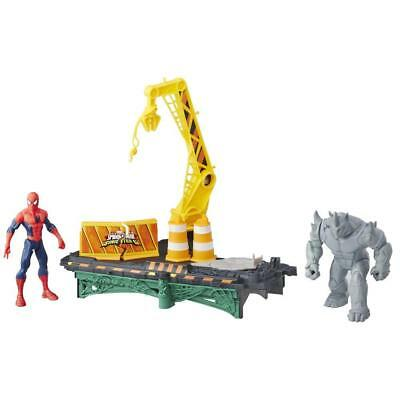 Marvel Spider-Man Rhino Rampage Play Set