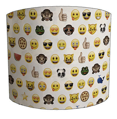 Emoji Lampshades, Ideal To Match Emoji Wallpaper, Emoji Duvets & Emoji Curtains.