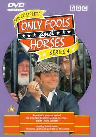 Only Fools And Horses Complete 4th Series Dvd Brand New & Factory Sealed