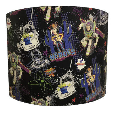 Toy Story Lampshades, Ideal To Match Toy Story Duvets & Toy Story Wall Decals.
