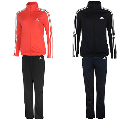 adidas Damen Trainingsanzug Sportanzug Jogginganzug Tracksuit Fitness 7055 L XL