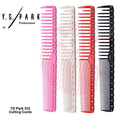 YS Park 332 Professional Hairdressing Cutting/Barbering Detangling Combs
