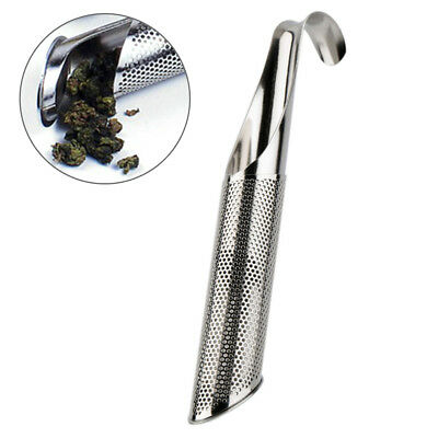 Stainless Steel Loose Tea Infuser Stick Strainer Filter Diffuser Herbal