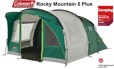 Coleman Rocky Mountain 5 Plus - Improved 2018 Model Featuring Blackout Bedroons
