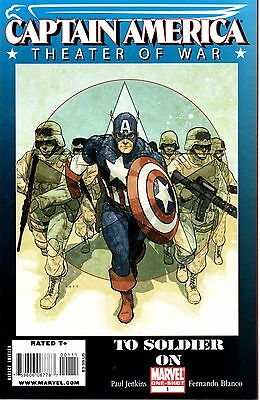 Captain America Theater of War: To Soldier On One-Shot Comic 1 Marvel 2009