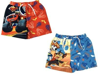 Spider-man Spiderman Authentic Official Marvel Bermuda Swim Shorts 3-8 Years UK